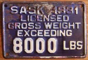 8000 Personal Loan With Bad Credit licenced truck weight metal plate