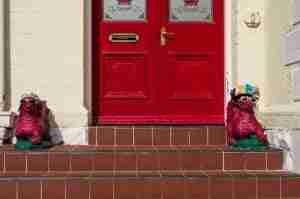 Same Day Doorstep Loans front door and door steps