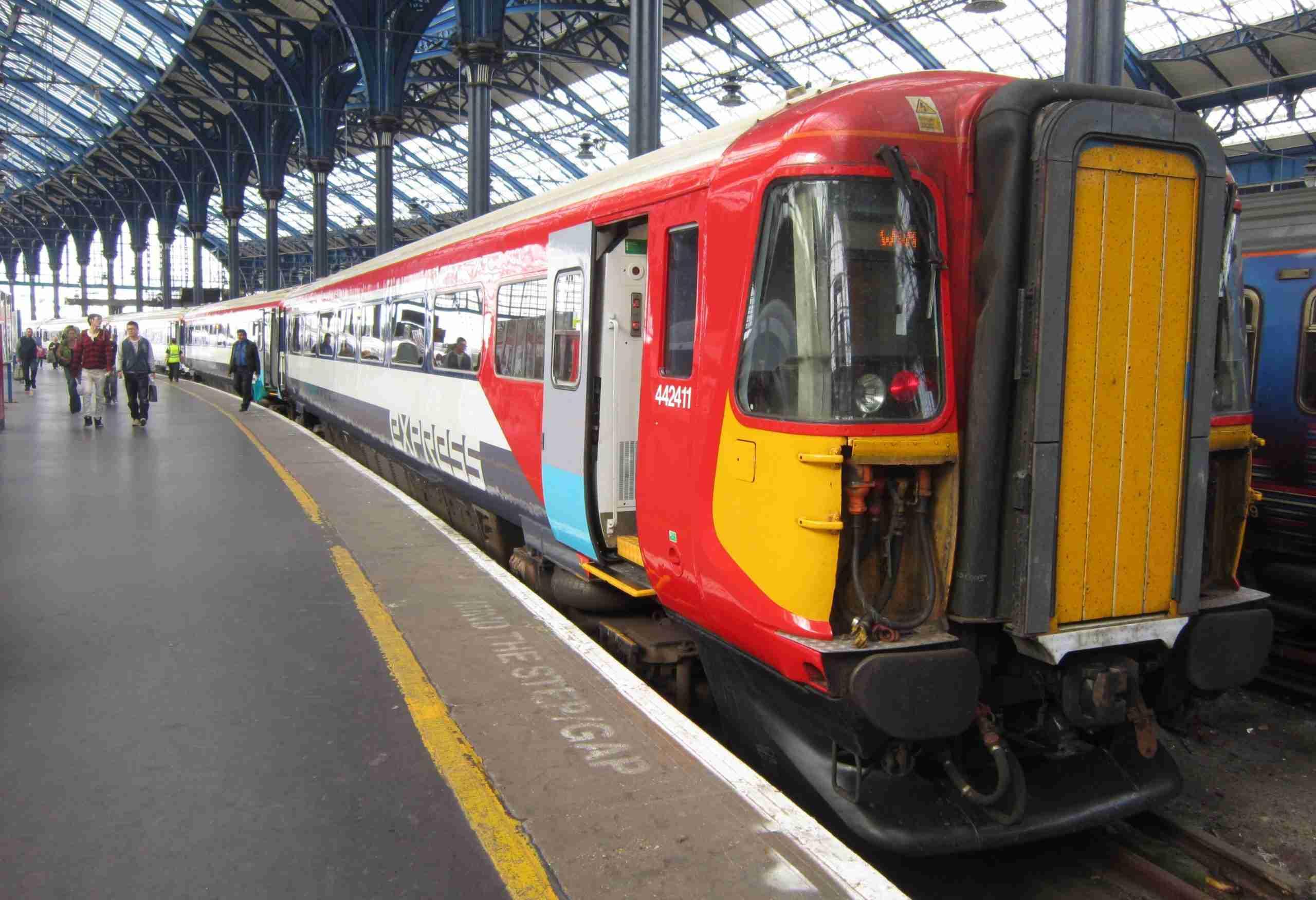 express finance loans gatwick express train